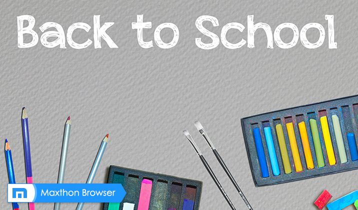 Back to School: The Maxthon Difference