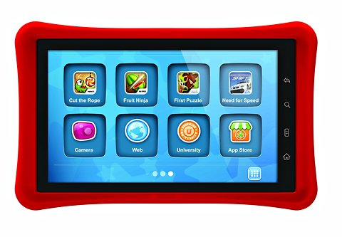 7&quot; Nabi Tablet - Kid-Safe Browsing