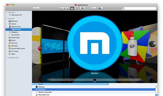 Maxthon for Mac and Flash: Convenience and Speed