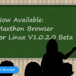 Maxthon Cloud Browser for Linux V1.0.2.0 Beta Released!