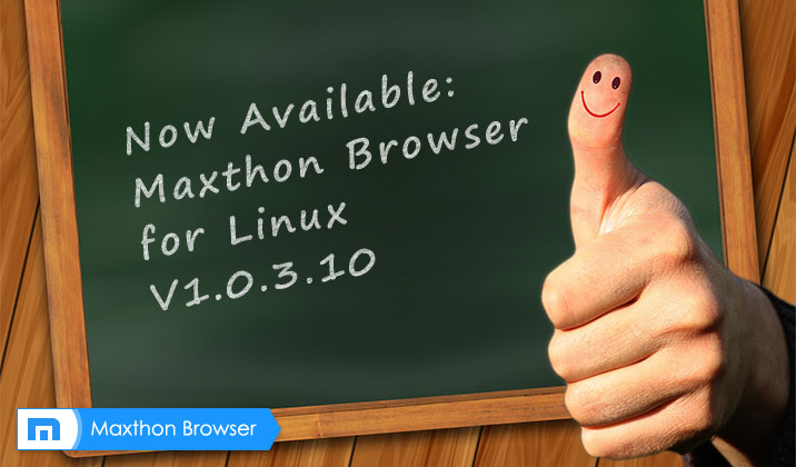 Maxthon Cloud Browser for Linux V1.0.3.10 Officially is Released!