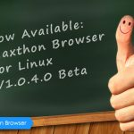 Maxthon Cloud Browser for Linux V1.0.4.0 Beta is Released Featuring the New 'Cloud Sync Manager'