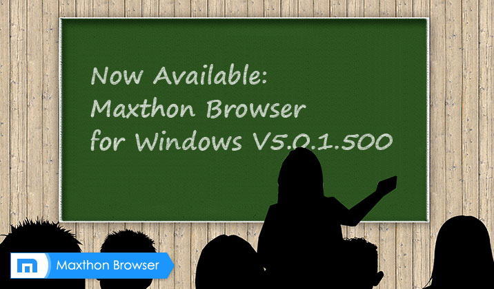 Maxthon Browser MX5 Beta V5.0.1.500 Officially Released!