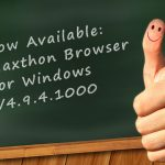 Maxthon Cloud Browser for Windows V4.9.4.1000 Officially Released!