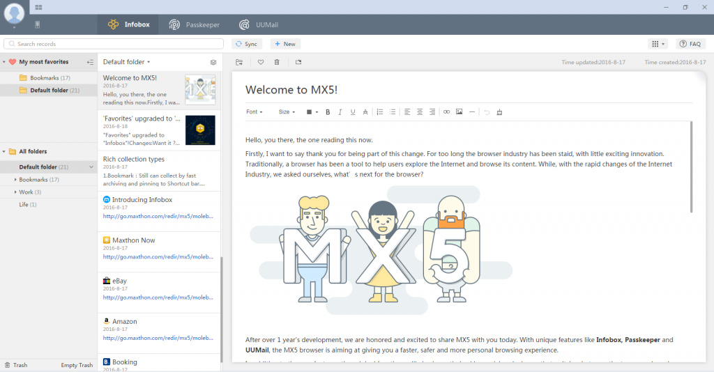 First Beta of Maxthon 5 Shows Browser Evolution to Personal Assistant