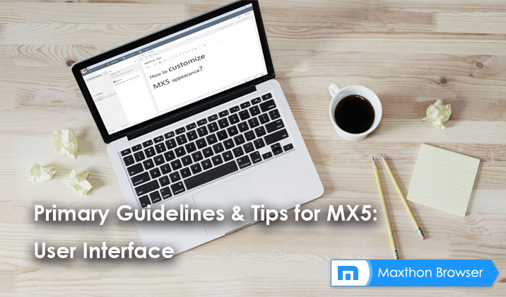 Primary Guidelines & Tips for MX5: User Interface