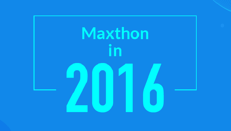 Maxthon in 2016