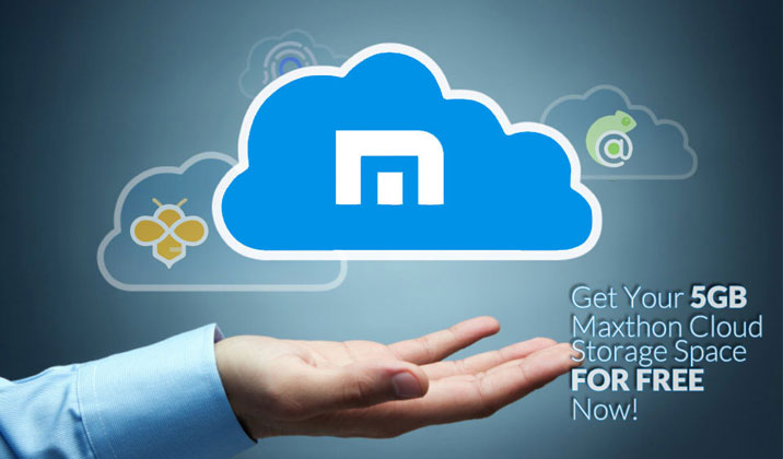 Get Your 5GB Maxthon Cloud Storage Space For Free Now!