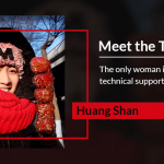 Meet the Team: Huang Shan, the Only Woman in Maxthon Technical Support Team