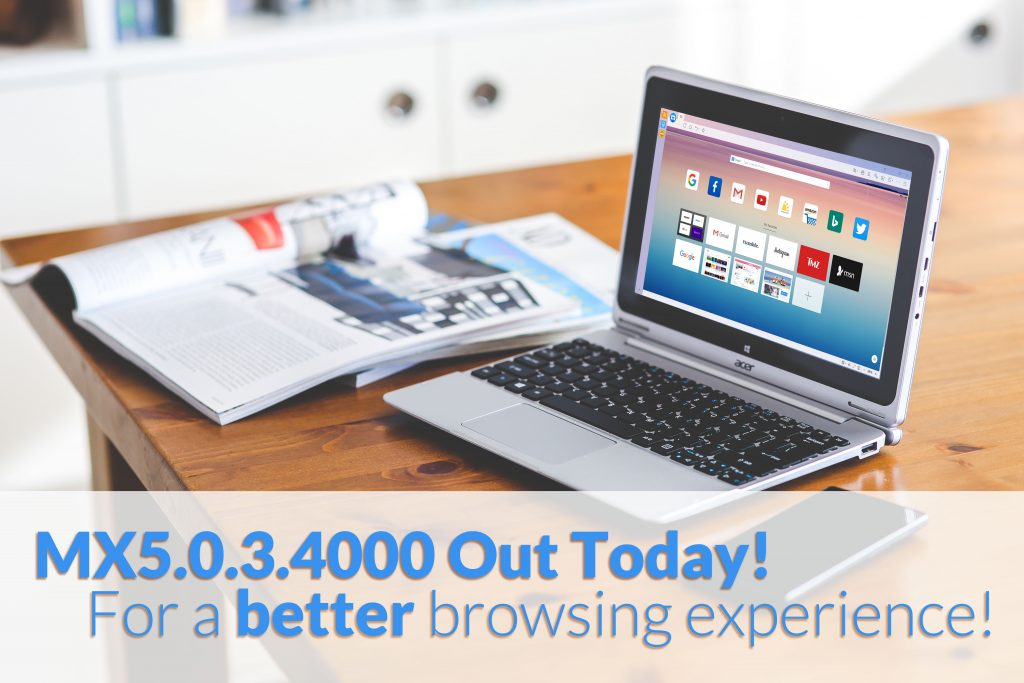 Maxthon Browser 5.0.3.4000 Officially Released!