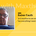 Rainer Fauth: Maxthon browser is intuitive to use and has everything I need