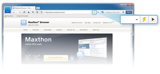 screenshot Maxthon 3.0.22.1000 Beta Maxthon 3.0.21.1000 1