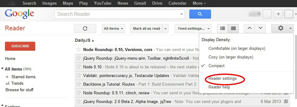 Importing Google Reader Feeds into Maxthon | Maxthon Browser